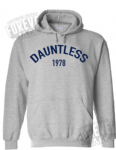 Single colour hoody- Dauntless